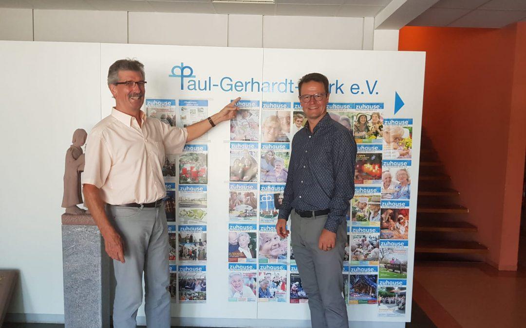 Gesprächsrunde mit dem Paul-Gerhardt-Werk