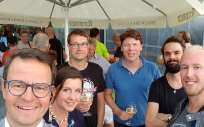 After-Work Party im Brauwerk Baden