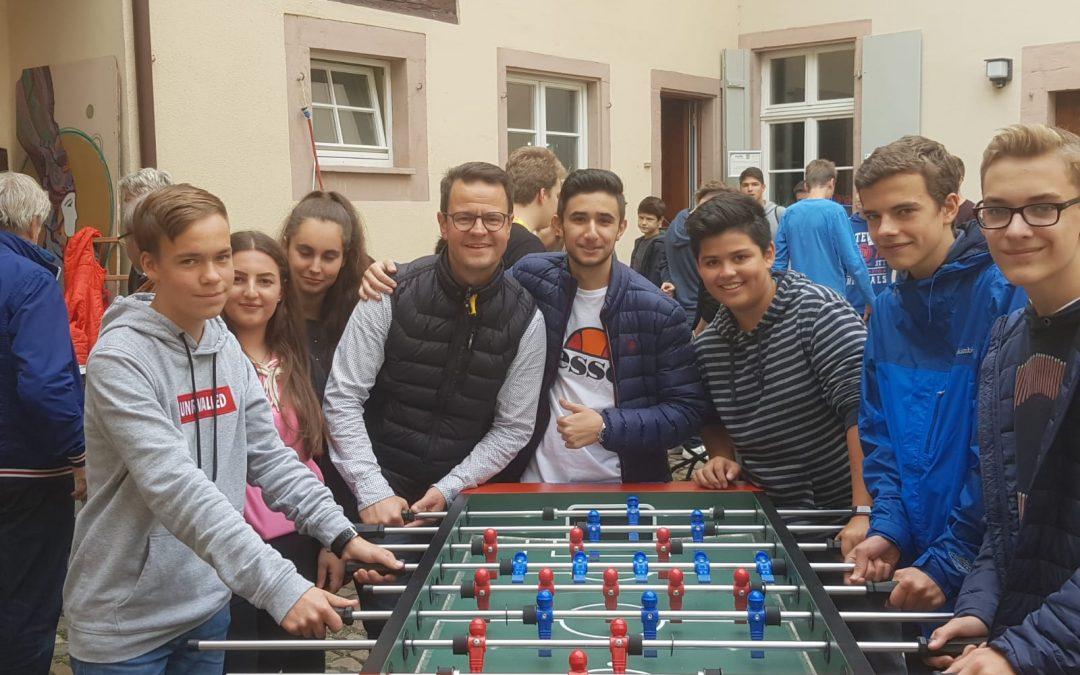 Zu besuch im Jugendbüro in Offenburg