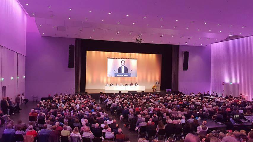 Offizielle Kandidatenvorstellung – 1400 Menschen [Video]