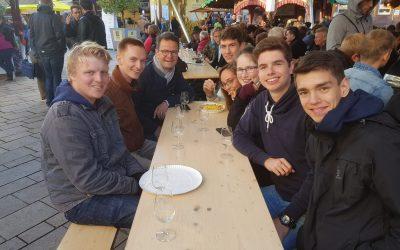 Zu Besuch auf dem Weinfest